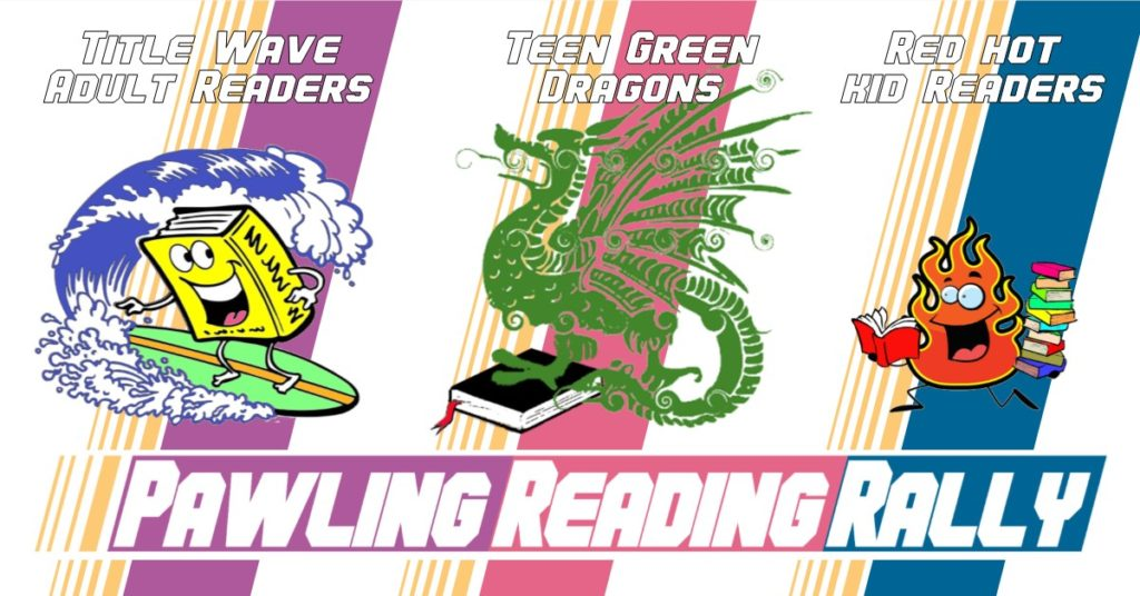 Pawling reading rally logo and mascots