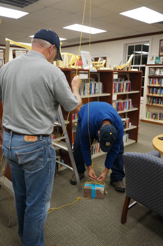 Two science experts show us how to make our pulley system work even harder for us!