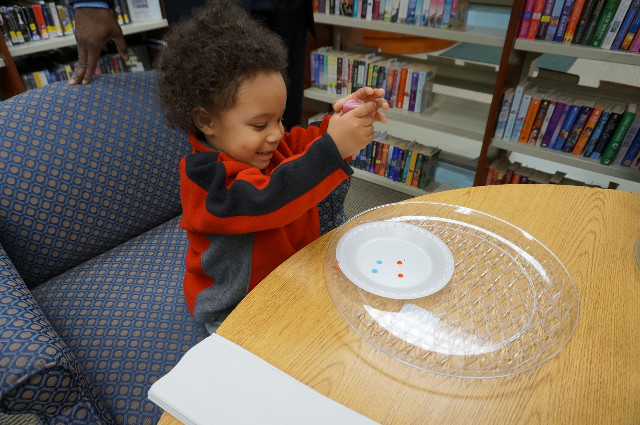 Even our smallest scientists love this activity!