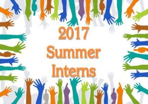 2017 Summer Interns